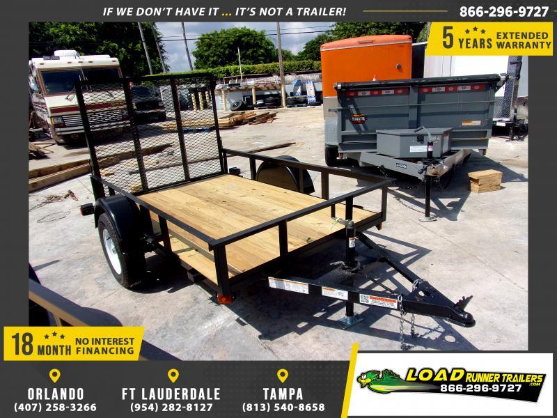 *116672* 5x8 Utility Lawn ATV Multipurpose Trailer  LRT Haulers & Trailers 5 x 8