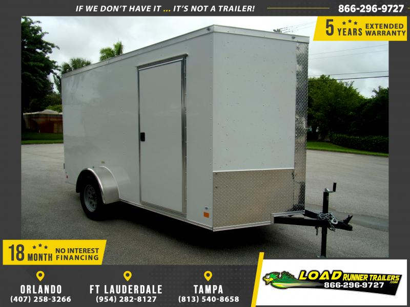 *114050* 6x12 Enclosed Cargo Trailer |LRT Haulers & Trailers 6 x 12
