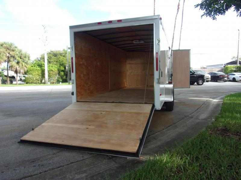 *112066* 7x16 Enclosed Cargo Trailer |LRT Tandem Axle Trailers 7 x 16