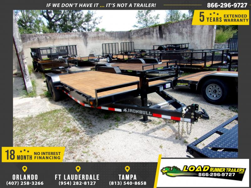 *115085* 7x20 Equipment Trailer |LRT Tandem Axle Trailers 7 x 20