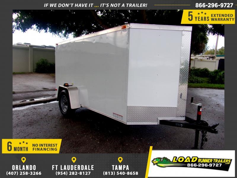 *112181* 5x10 Enclosed Cargo Trailer  LRT Haulers & Trailers 5 x 10