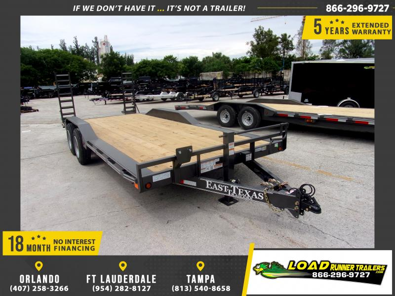 *117536* 8.5x20 7 TON Equipment Hauler Trailer | LRT Trailers 8.5 x 20