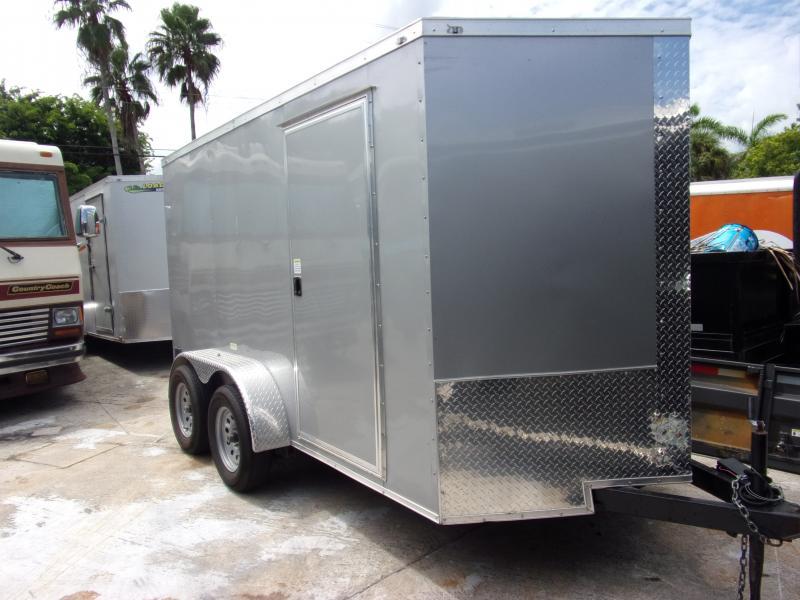 *117519* 6x12 Enclosed Cargo Trailer |LRT Tandem Axle Trailers 6 x 12