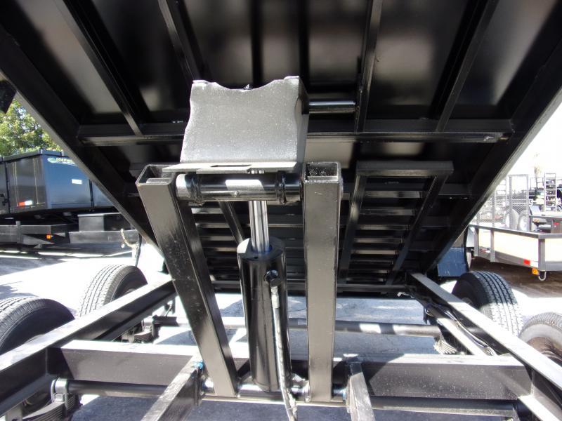 *112677* 7x14 Dump Trailer |LRT Tandem Axle Trailers 7 x 14