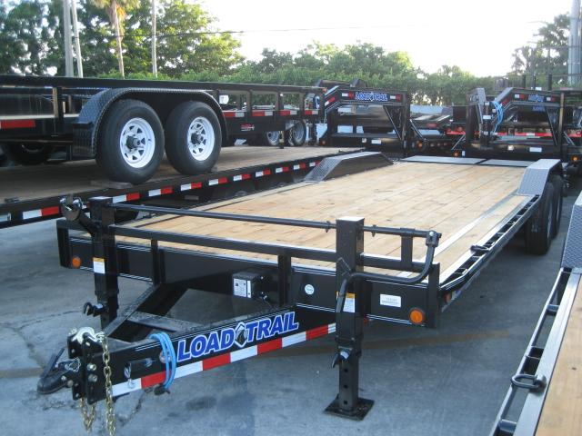 *EQ32* 8.5x24 7 TON Equipment & Car Hauler Trailer |LR Trailers 8.5 x 24 | EQ102-24T7-DOF/MPD