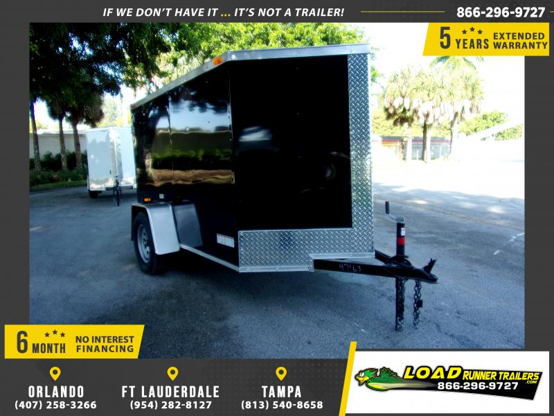 *111729* 5x8 Enclosed Cargo Trailer |LRT Haulers & Trailers 5 x 8