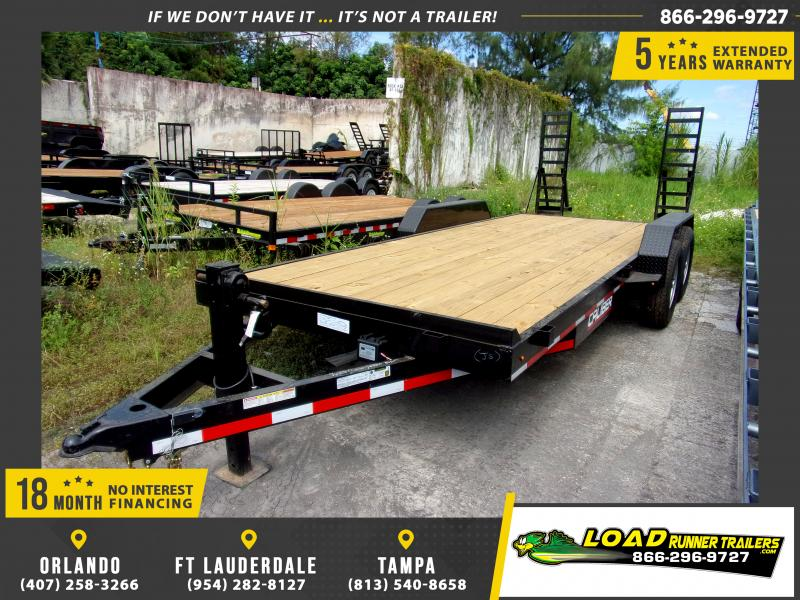 *117527* 7x20 Equipment Trailer |LRT Tandem Axle Trailers 7 x 20