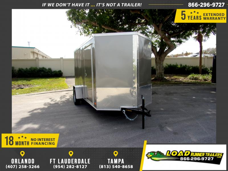 *113284* 6x12 Enclosed Cargo Trailer |LRT Haulers & Trailers 6 x 12