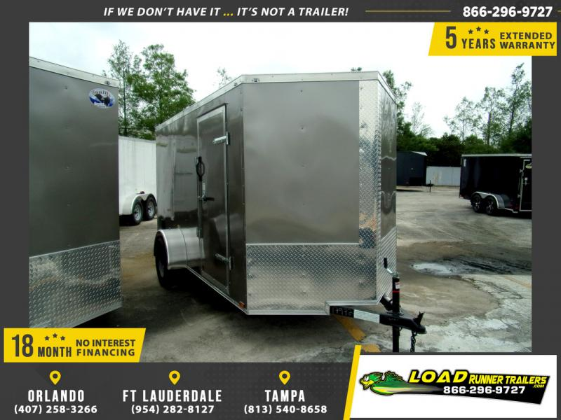*109779* 6x12 Enclosed Cargo Trailer |LRT Haulers & Trailers 6 x 12