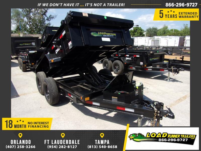 *114759* 5x10 Dump Trailer  LRT Tandem Axle Trailers 5 x 10