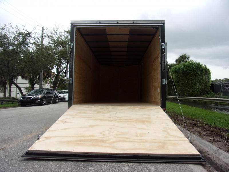 *112330* 7x16 Enclosed Cargo Trailer |LRT Tandem Axle Trailers 7 x 16