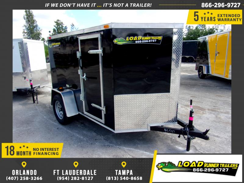 *111363* 5x8 Enclosed Cargo Trailer |LRT Haulers & Trailers 5 x 8