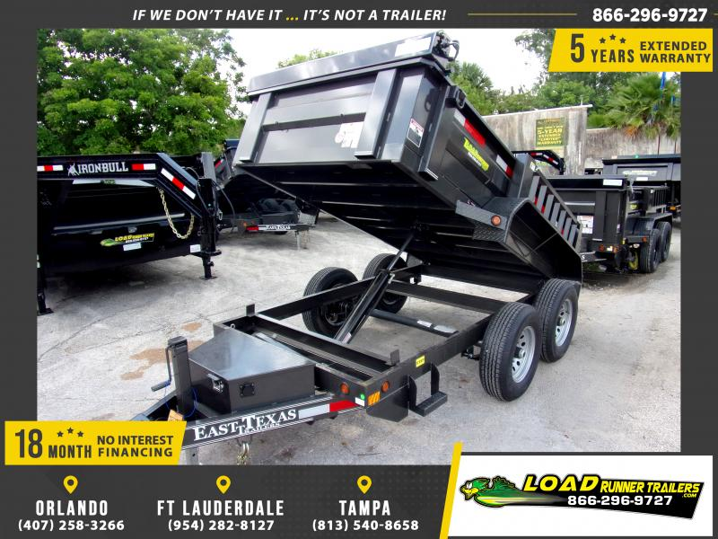 *114806* 5x10 6 TON Dump Trailer |LRT Dumps and Trailers 5 x 10