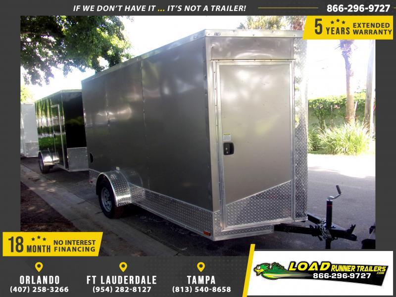 *117080* 6x12 Enclosed Cargo Trailer  LRT Haulers & Trailers 6 x 12