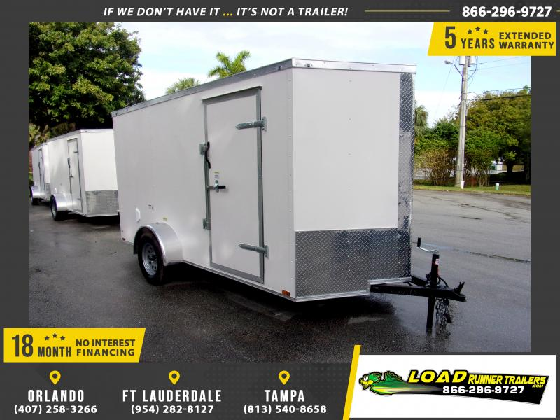 *115174* 6x12 Enclosed Cargo Trailer |LRT Haulers & Trailers 6 x 12