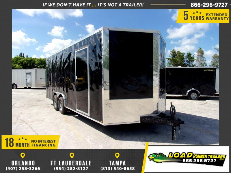 *111716* 8.5x20 Enclosed Cargo Trailer |LRT Tandem Axle Trailers 8.5 x 20