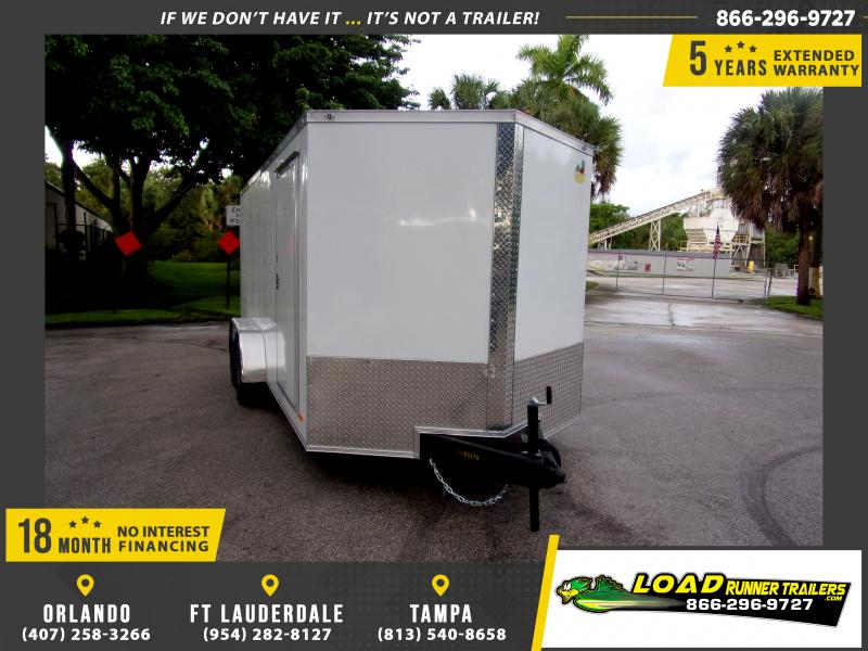 *111892* 7x16 Enclosed Cargo Trailer |LRT Tandem Axle Trailers 7 x 16