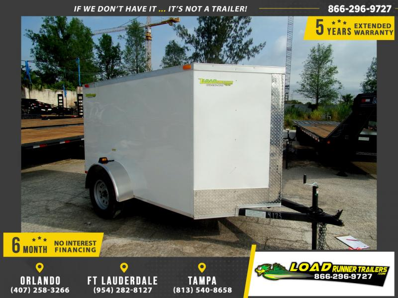 *109451* 5x8 Enclosed Cargo Trailer |LRT Haulers & Trailers 5 x 8