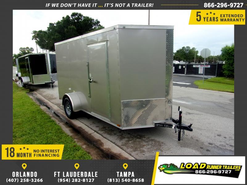 *110386* 6x12 Enclosed Cargo Trailer |LRT Haulers & Trailers 6 x 12
