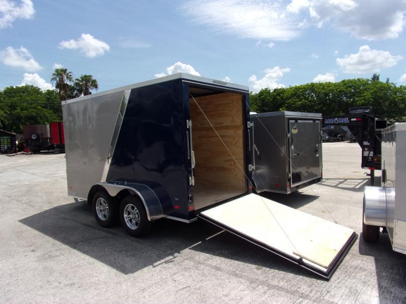 *109897* 6x12 Enclosed Cargo Trailer |LRT Tandem Axle Trailers 6 x 12