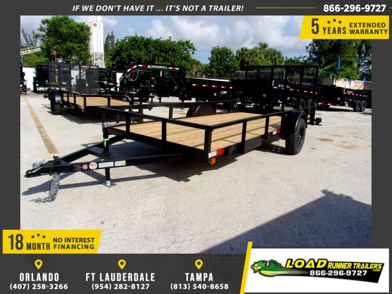 *110313* 6x14 Utility|Lawn|ATV|Multipurpose Trailer |LRT Haulers & Trailers 6 x 14