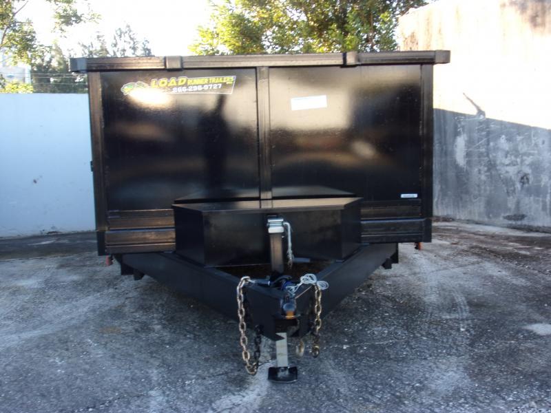 *112480* 7x14 Dump Trailer |LRT Tandem Axle Trailers 7 x 14
