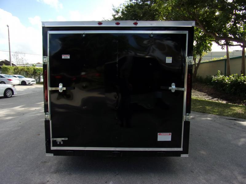 *113766* 7x12 Enclosed Cargo Trailer  LRT Haulers & Trailers 7 x 12