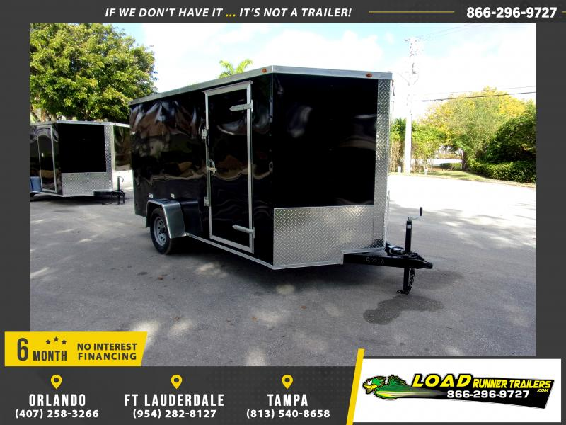 *113766* 7x12 Enclosed Cargo Trailer |LRT Haulers & Trailers 7 x 12