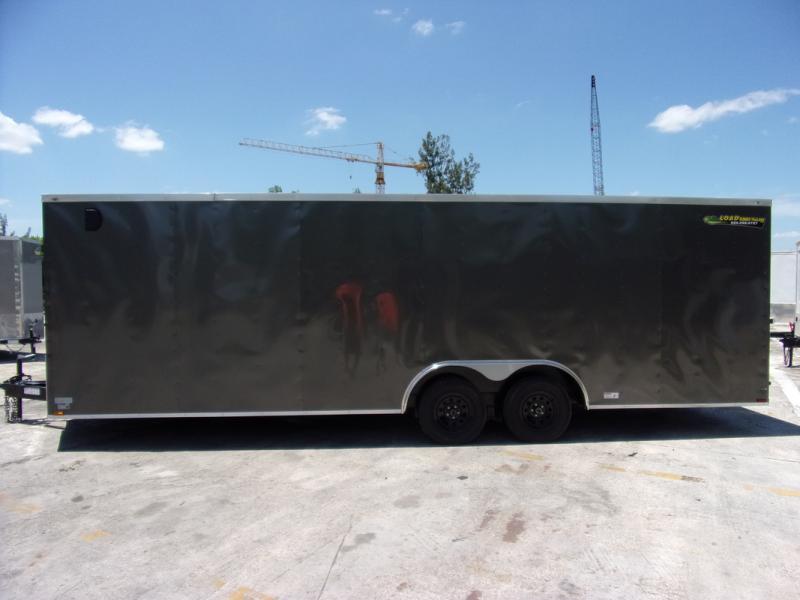 *109013* 8.5x24 Enclosed Cargo Trailer  LRT Tandem Axle Trailers 8.5 x 24