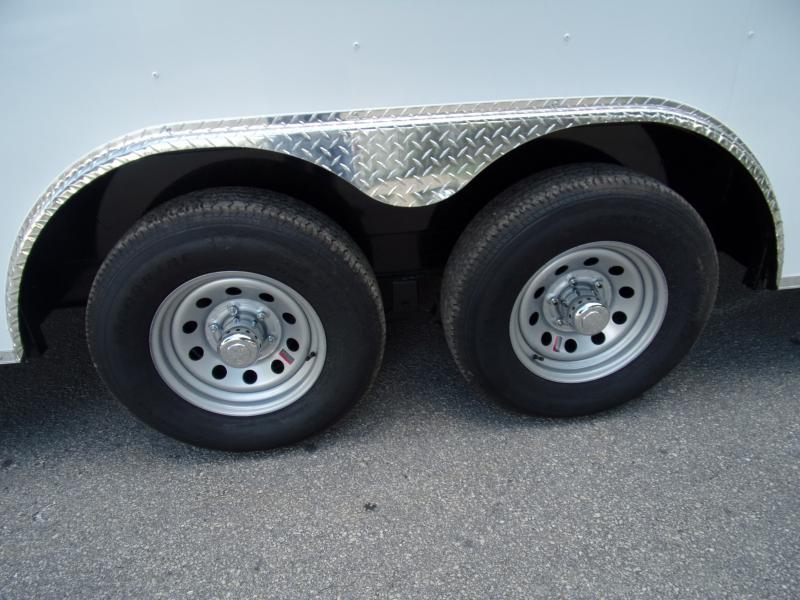 *115832* 8.5x24 Enclosed Cargo Trailer |LRT Tandem Axle Trailers 8.5 x 24