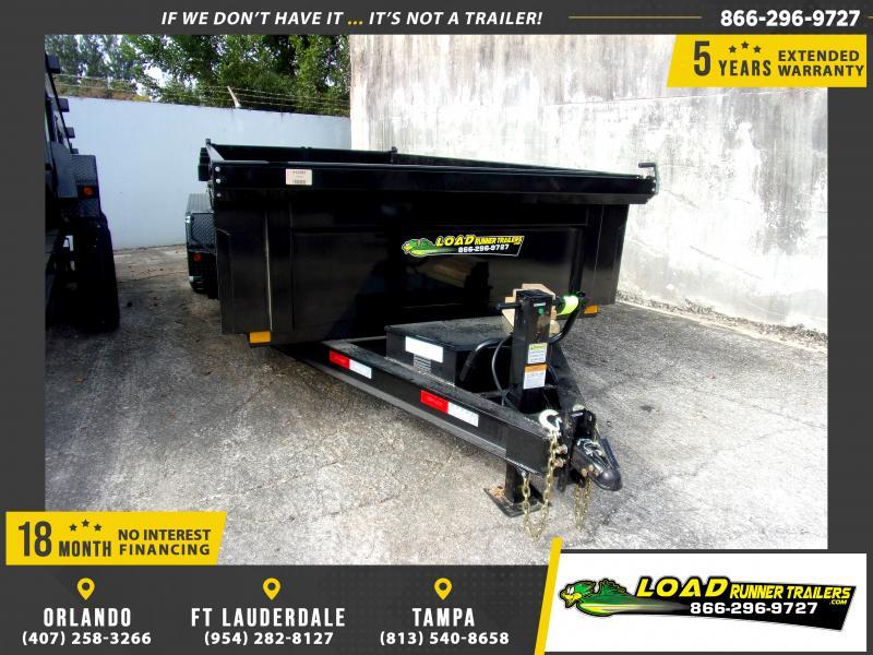*116550* 7x14 Dump Trailer  LRT Tandem Axle Trailers 7 x 14