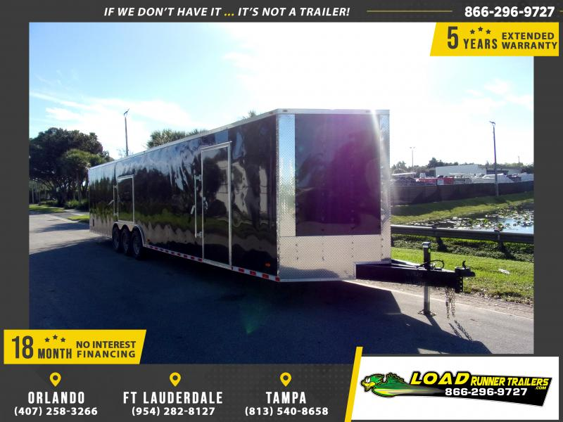 *112996* 8.5x36 Enclosed Cargo Trailer |LRT Tandem Axle Trailers 8.5 x 36