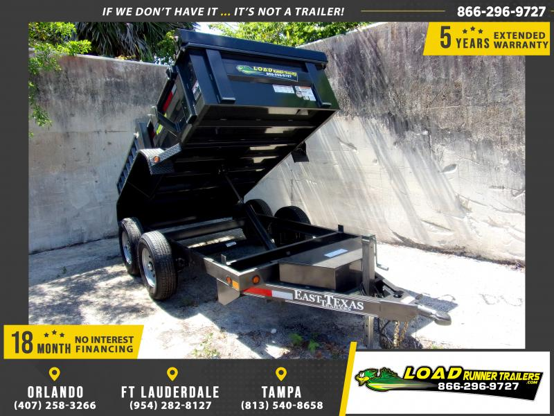 *114722* 5x10 6 TON Dump Trailer |LRT Dumps and Trailers 5 x 10