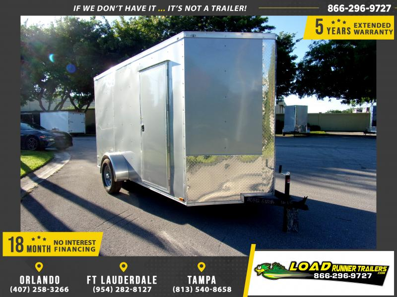 *111830* 6x12 Enclosed Cargo Trailer |LRT Tandem Axle Trailers 6 x 12