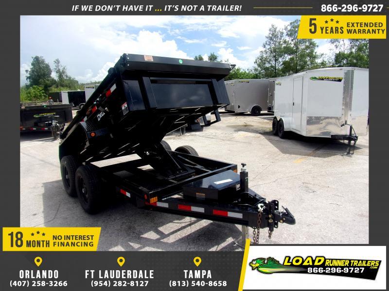 *116493* 5x10 6 TON Dump Trailer  LRT Dumps and Trailers 5 x 10