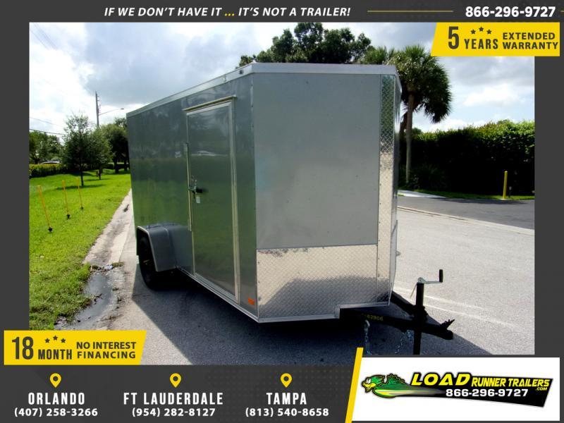 *116451* 6x12 Enclosed Cargo Trailer  LRT Haulers & Trailers 6 x 12