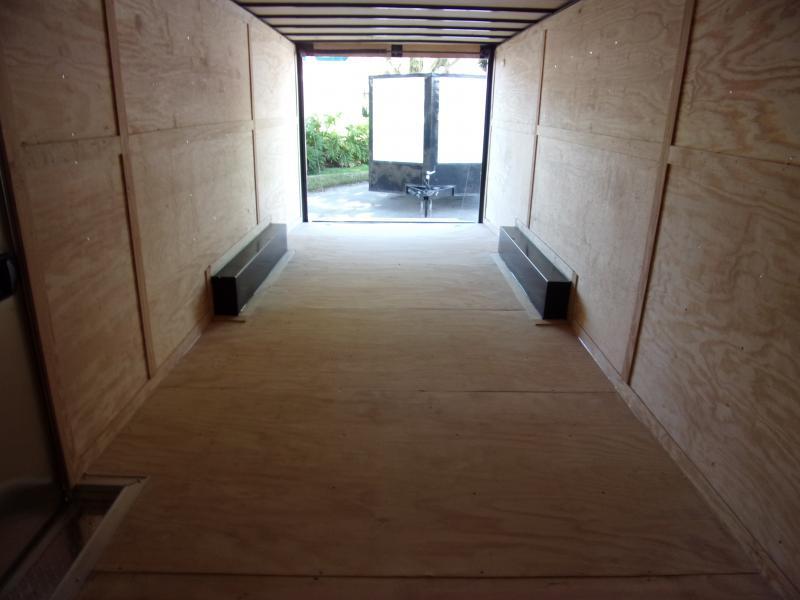 *117364* 8.5x24 Enclosed Cargo Trailer  LRT Tandem Axle Trailers 8.5 x 24