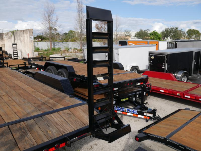 *EQ14B* 7x20 7 TON Equipment & Car Hauler Trailer  LR Trailers 7 x 20   EQ83-20T5-2B-KR