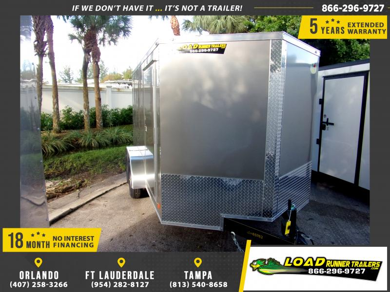*112350* 7x12 Enclosed Cargo Trailer |LRT Tandem Axle Trailers 7 x 12