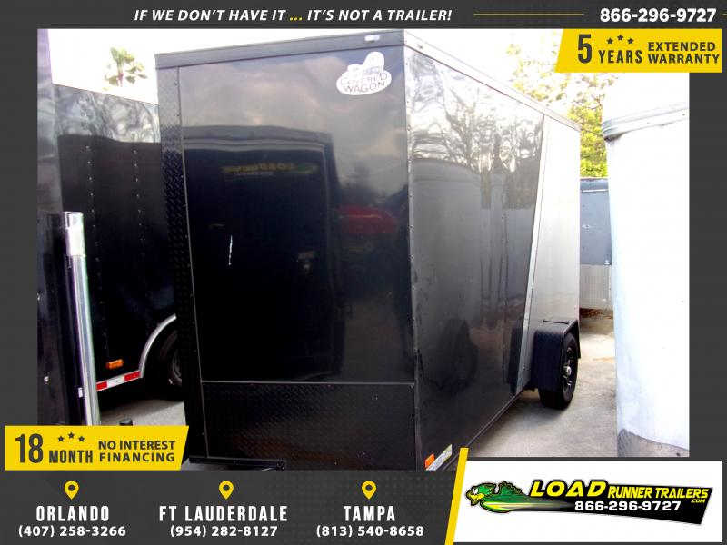 *114478* 7x12 Enclosed Cargo Trailer |LRT Haulers & Trailers 7 x 12