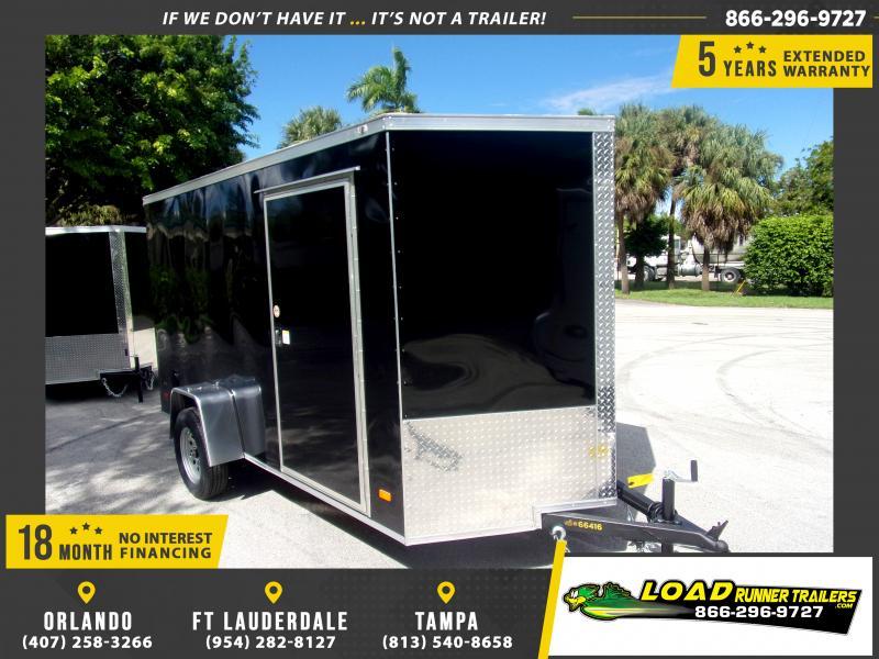 *117929* 6x12 Enclosed Cargo Trailer |LRT Haulers & Trailers 6 x 12