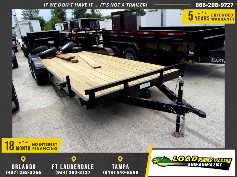 *116605* 7x20 Car Trailer  LRT Tandem Axle Trailers 7 x 20