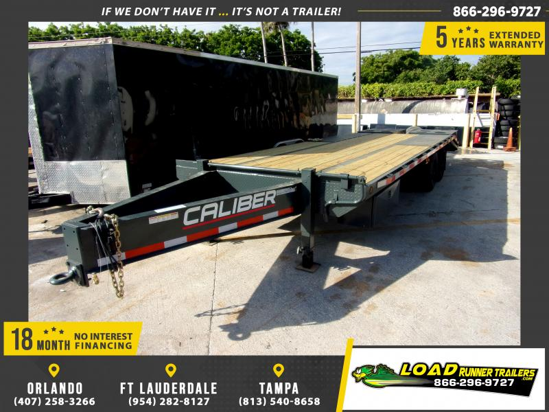 *115067* 8.5x25 Flatbed Deck Over Trailer |LRT Haulers & Trailers 8.5 x 25