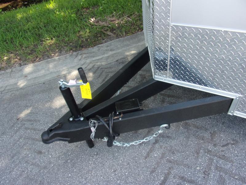*112056* 7x18 Enclosed Cargo Trailer |LRT Tandem Axle Trailers 7 x 18