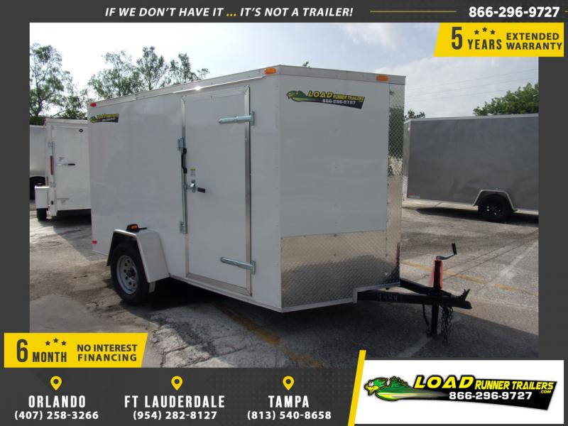 *115042* 6x10 Enclosed Cargo Trailer |LRT Haulers & Trailers 6 x 10