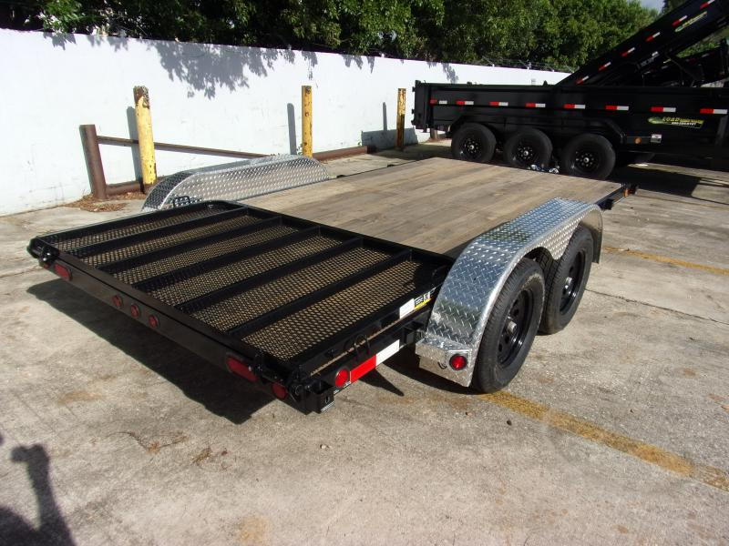 *111310* 7x14 Utility Trailer W/Brakes and Tube Rail 7 x 14