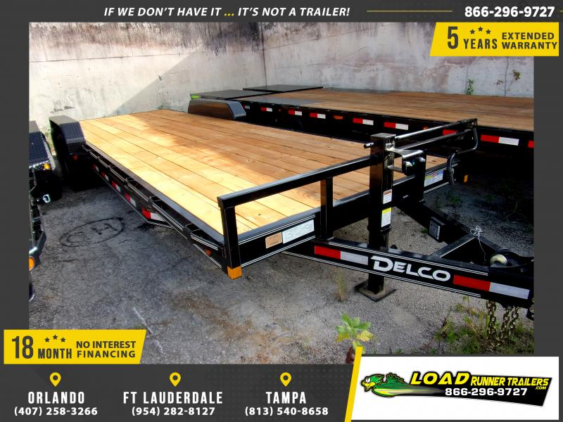 *110588* 7x24 Car Trailer |LRT Tandem Axle Trailers 7 x 24