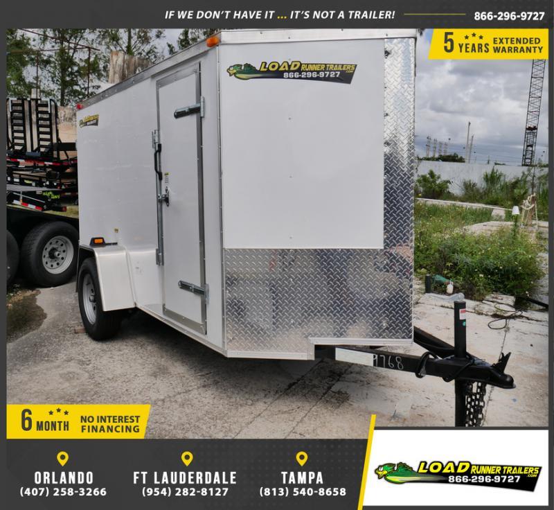 *E2-BBD* 5x10 Enclosed  Trailer Cargo Trailers 5 x 10 | EV5-10S3-DD
