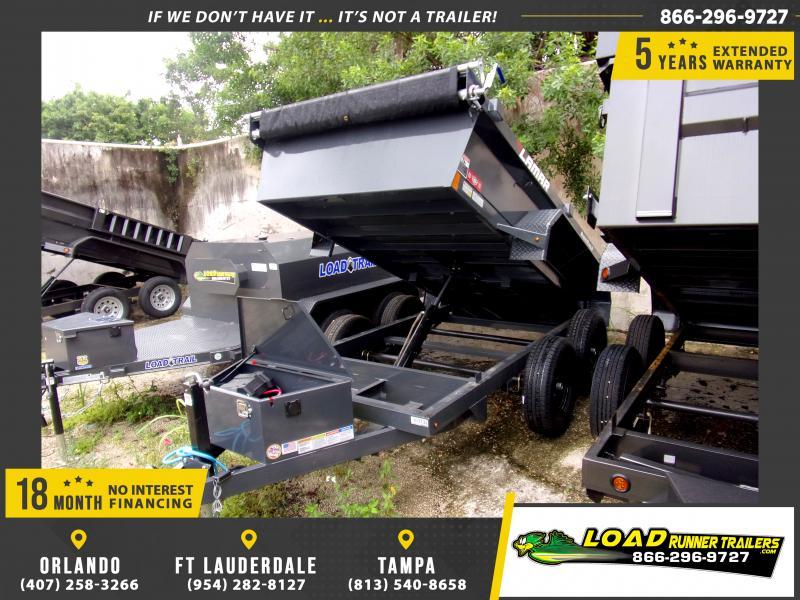 *116389* 5x10 Dump Trailer  LRT Tandem Axle Trailers 5 x 10