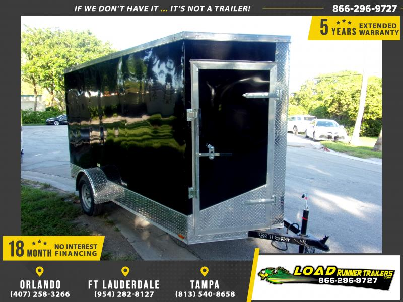*118011* 6x12 Enclosed Cargo Trailer  LRT Haulers & Trailers 6 x 12